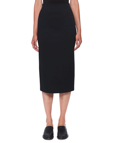 cbb2bc2e20 Quick Look. THE ROW · Adiale Fitted Midi Pencil Skirt. Available in Black