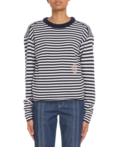 Cashmere Mariniere Sweater