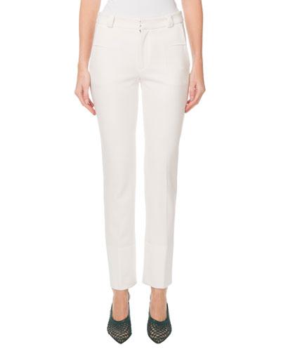 Lacerta Slim-Leg Pants
