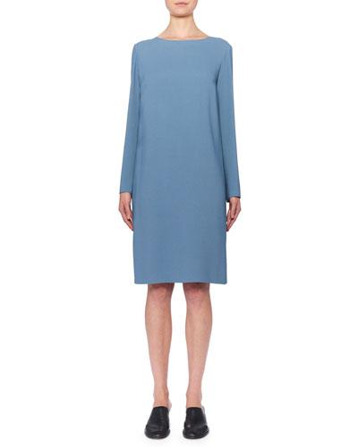 5f700ed5740 Quick Look. THE ROW · Karina Long-Sleeve Shift Dress