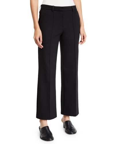 Kalise Cropped Wide-Leg Trousers
