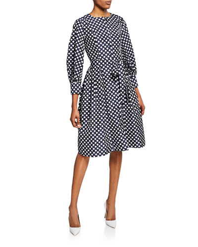 59230fa428df Carolina Herrera 3 4-sleeve Dress