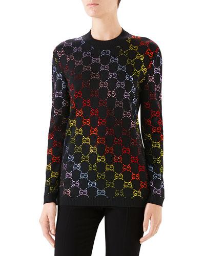 2ba97b3b65e53 Gucci Black Sweater | Neiman Marcus