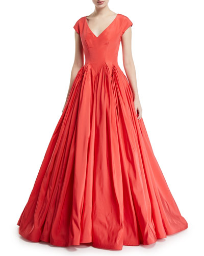 Red Ball Gown Neiman Marcus