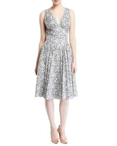 Liberty Cotton Sleeveless Dress