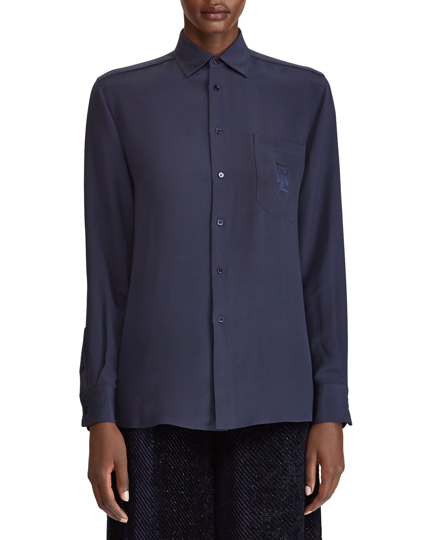 363af5304186dd Ralph Lauren Collection Women's Tops   Ralph Lauren Collection ...