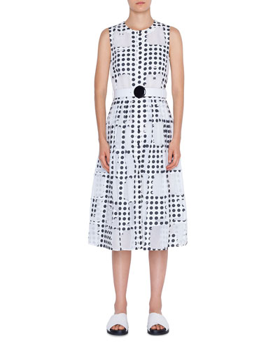 2e84f4782677 Belted A Line Dress | Neiman Marcus