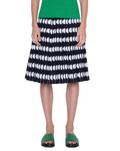 Cotton Blend Memphis Skirt