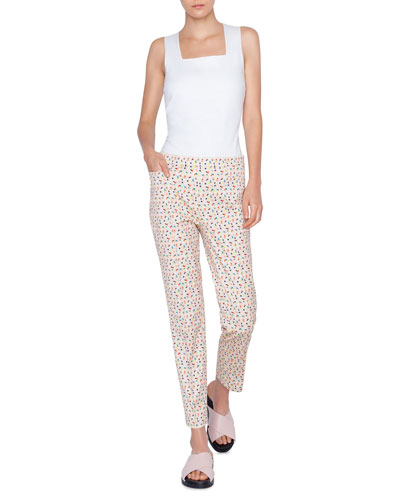 Franca Cotton Stretch Memphis Bell Air Pants