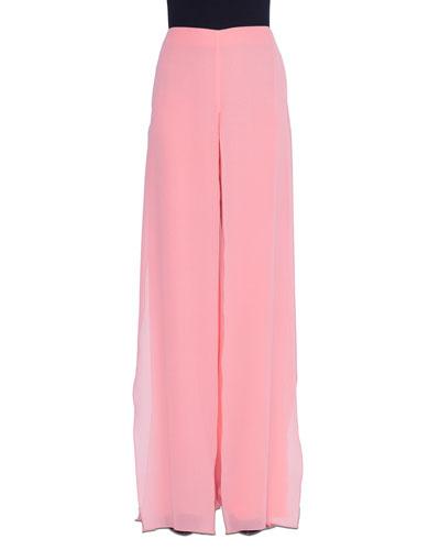 Carmen Wide-Leg Silk Pants