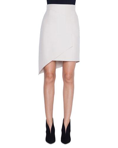 Asymmetric Front-Panel Skirt