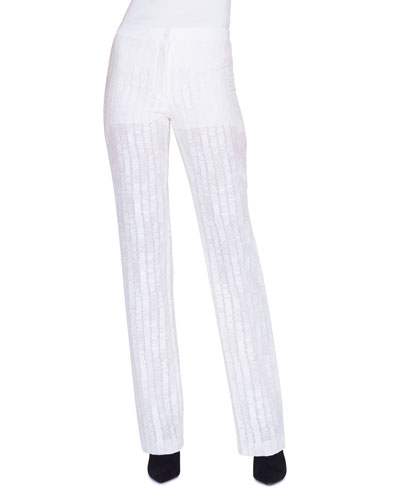 Carl Scribble SG Embroidered Illusion Pants