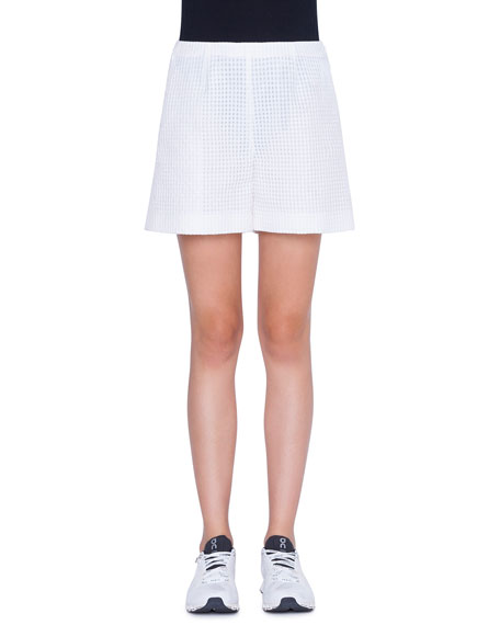Akris Carlotta Cotton Shorts