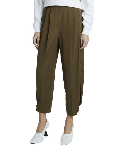 Givenchy High-Waist Baggy-Fit Trousers