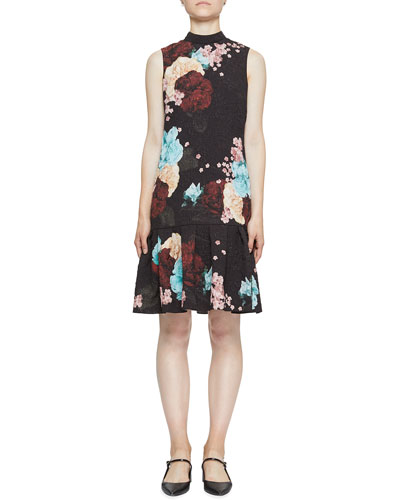 Nena Floral Flounce Dress