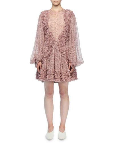 8d2d02aadf7 Silk Floral Dress