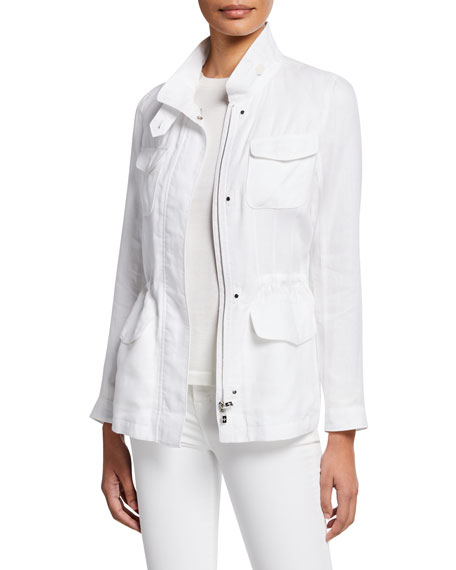 Loro Piana Lady Linen Traveler Jacket
