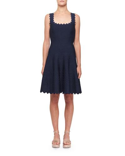 be55904a25e Knee Length Viscose Dress