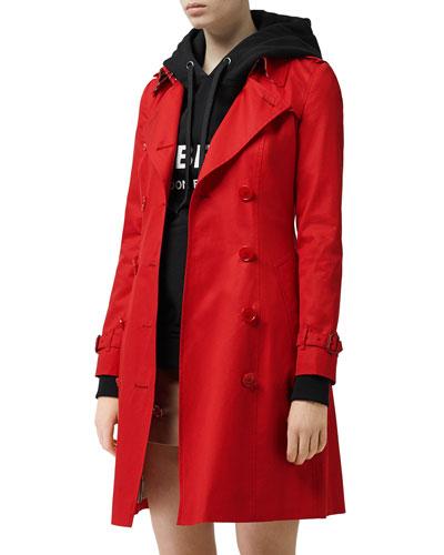 44a43881b46a Quick Look. Burberry · Chelsea Slim-Fit Cotton Gabardine Coat