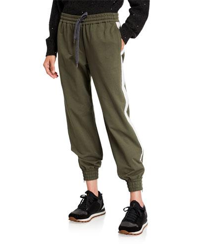 Cotton Felpa Jogger Pants
