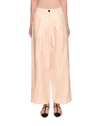 Viscose/Linen Pants
