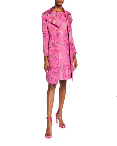 Floral Brocade Topper Jacket