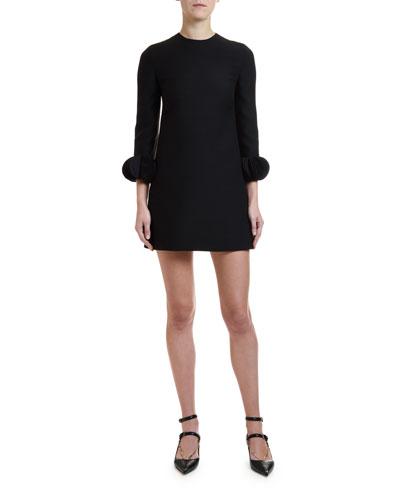 Scallop-Disk Dress