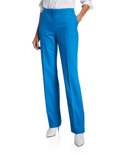 Taminotas Classic Zip-Front Pants