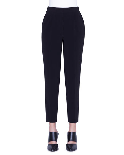 Maiko Crepe Ankle Pants