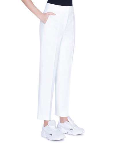 Ferry High-Waist Jersey Boyfriend Pants