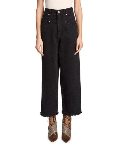 Daliska Cropped Easy Jeans