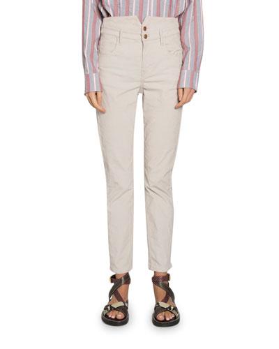 Verna Super High-Waist Skinny Pants