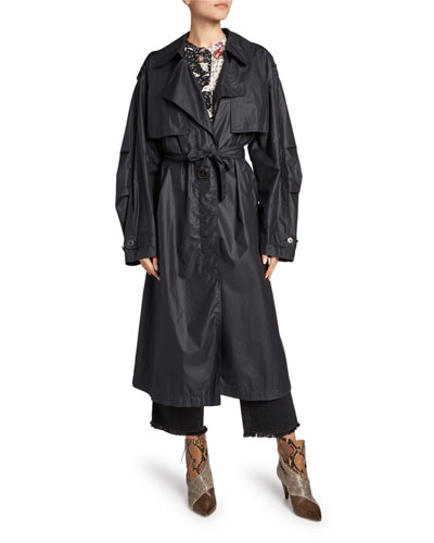 Clem Lightweight Trench Coat