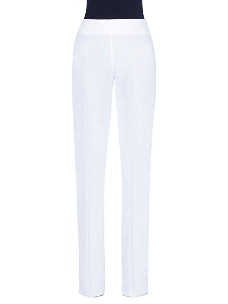 Akris Carla Wool Straight-Leg Pants