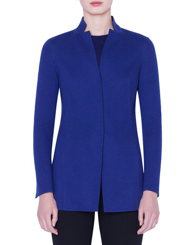 Danielle Cashmere-Jersey Jacket