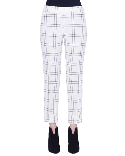 Maxima Conical Wool Crepe Pants
