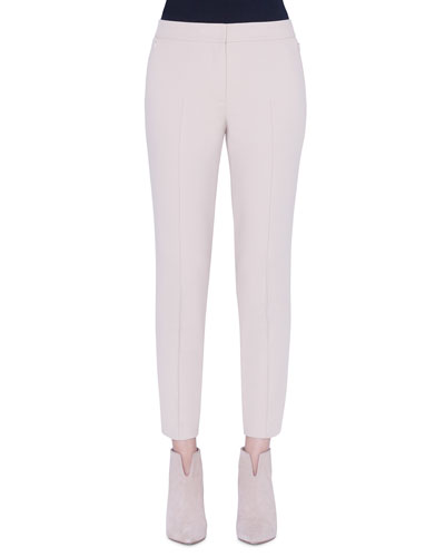 Marcie Cotton Techno Ankle Pants