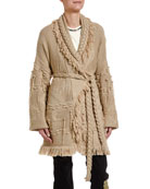 Alanui Icon Oversize Fisherman Cardigan