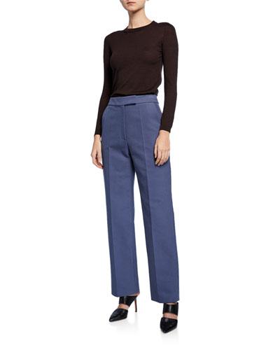Dalton High-Waist Trousers