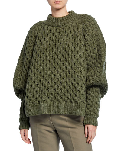 Orion Chunky Cable-Knit Sweater