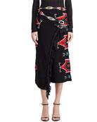 Ralph Lauren Collection Silk Wrap Skirt