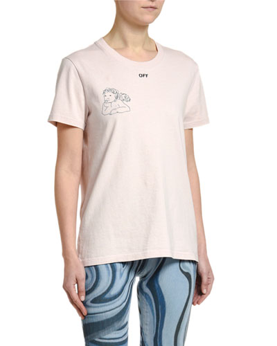 Angel Graphic Short-Sleeve Tee
