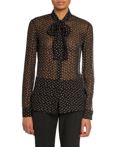 306c36b5 Black Long Sleeves Blouse | Neiman Marcus