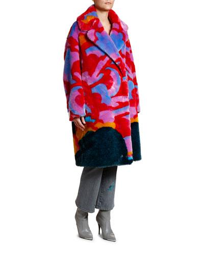 8134d72fc4 Faux-fur Jacket | Neiman Marcus