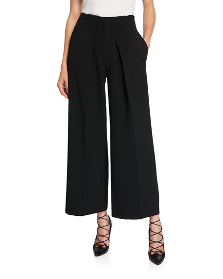 Roland Mouret Melthan Wide-Leg Trousers