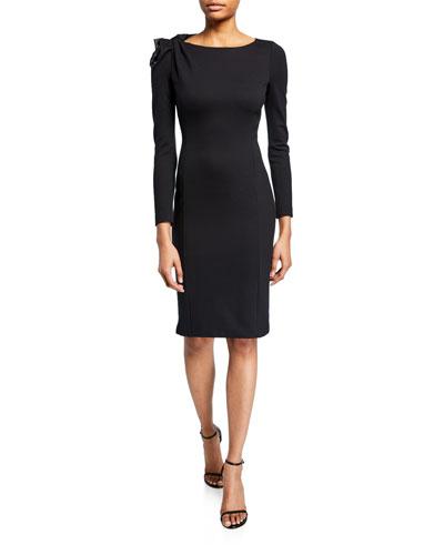 d1b203c0e74 Bow Sheath Silhouette Dress | Neiman Marcus