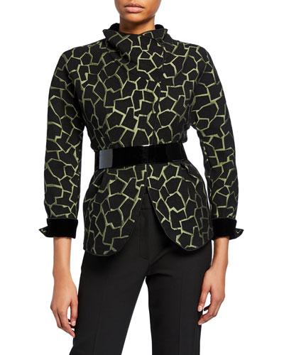 37a0fc4e3cb7 Quick Look. Emporio Armani · Giraffe-Print Jacket