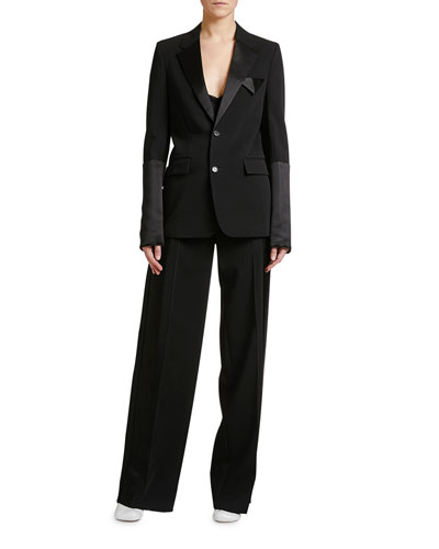 de831da8 Quick Look. Bottega Veneta · Elastic-Waist Tux Jacket. Available in Black