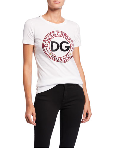 Short-Sleeve DG Logo Jersey Tee