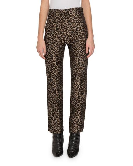 Redemption Leopard-Print High-Rise Pants